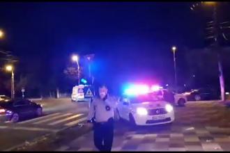 Incident sângeros în Galați, la o sală de păcănele, chiar vizavi de sediul poliţiei