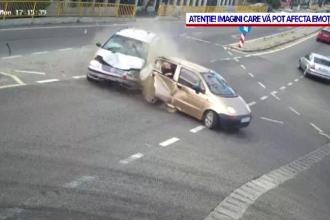 Accident tragic în Dolj. O mașină a fost spulberată fără ca șoferul să aibă vreo vină
