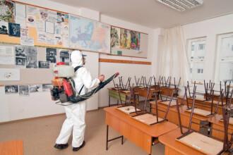 Posibil focar de infecție cu noua tulpină la o școală din București. DSP extinde ancheta