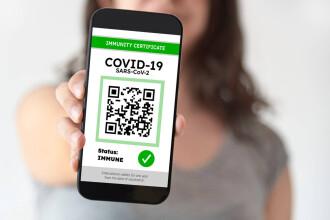 Certificatul COVID, obligatoriu pentru accesul în baruri, cluburi și sălile de joc în zonele cu incidență peste 3 la mie