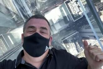 New York-ul, văzut de la 400 de metri dintr-un spațiu special. Este creația lui Kenzo Digital