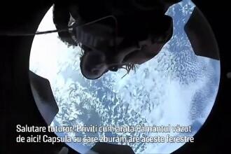 """Cum își petrec timpul cei patru astronauți amatori aflați în capsula Space X. """"Este cu adevărat incredibil"""""""