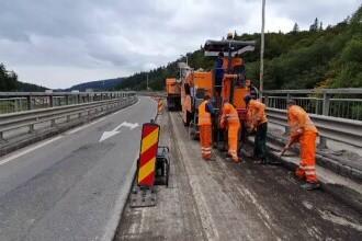 Se anunță trafic îngreunat pe ruta Bucureşti-Braşov din cauza unor lucrări. Cât va dura situația