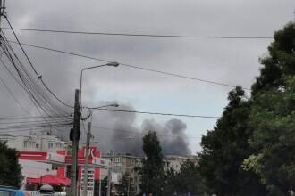 Incendiu la Rafinăria Petrotel-Lukoil din Ploiești. Localnicii au fost avertizați prin mesaj Ro-Alert