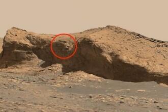 Un bărbat susține că a găsit chipul sculptat al unui extraterestru, vechi de 10.000 de ani pe un munte de pe Marte