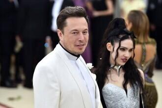 Miliardarul Elon Musk și cântăreața Grimes s-au despărțit după trei ani de relație