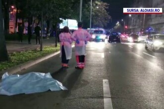 Bărbatul sfârtecat în Iași a văzut mașina gonind spre el și s-a grăbit pe zebră ca să ajungă pe trotuar, dar nu a mai apucat