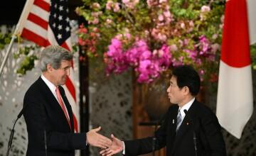 SUA sunt hotarate sa apere Japonia, promite secretarul de Stat, John Kerry