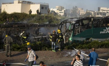 Atac cu bomba in Ierusalim. Bilantul victimelor a ajuns la 21, dupa ce un autobuz a sarit in aer