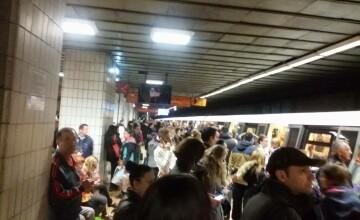 Nou incident la metrou. Reacția angajaților după ce un tânăr a leşinat într-un vagon