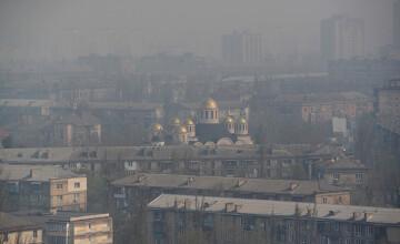 Kiev a devenit cel mai poluat oraş din lume după incendiile de la Cernobîl. GALERIE FOTO