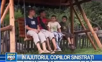 600 de copii din zonele afectate de inundaţii, în vacanţă la Bran-Moeciu