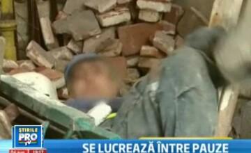 Ce nu poate Oprescu, dar face un reporter ProTv? Reactia unui muncitor care doarme pe bani europeni