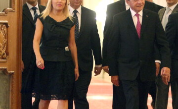 Traian Basescu sustine candidatura Elenei Udrea la Presedintie. \