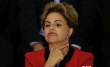 Presedinta Braziliei, tot mai aproape sa fie demisa. Infrangere zdrobitoare in Parlament