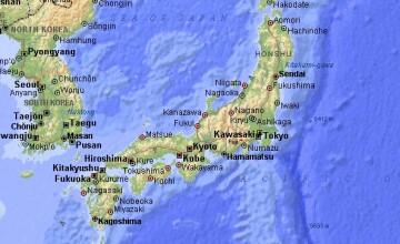 Cutremur cu magnitudinea 6,5 in largul coastei estice a Japoniei