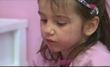 Kassandra, fiica adoptiva a lui Iosif Rotariu, operata pentru a 37-a oara. I-a cerut lui Mos Craciun o viata normala