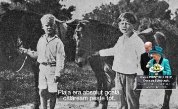 Prințul Filip, interviu exclusiv pentru John Florescu: \