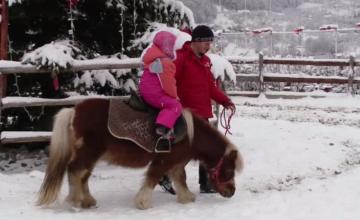 Surprizele cu care părinții și copiii sunt așteptați în satul de vacanță din Bran