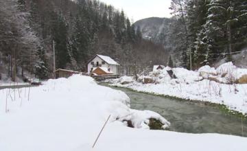Crăciun de poveste în comuna Dâmbovicioara. Pensiunile sunt rezervate și pe anul următor