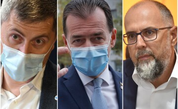 Ludovic Orban, Kelemen Hunor, Dan Barna