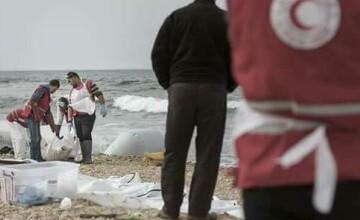 imigranti plaja Libia
