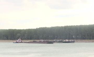 Traficul fluvial pe Dunăre, închis din cauza vântului puternic
