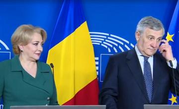 Preşedintele Parlamentului European i-a cerut Vioricăi Dăncilă să lupte cu corupţia