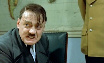 Actorul Bruno Ganz, care l-a interpretat pe Hitler în \