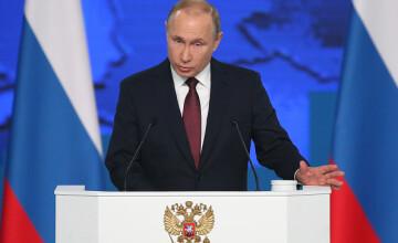 Putin le promite ruşilor o îmbunătăţire a situaţiei lor \
