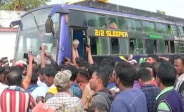 Tragedie în India. Cel puțin 10 oameni morți, după ce un autobuz a atins un cablu electric