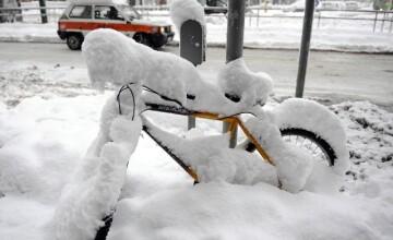 Italia sub zapada! Orasul Milano, paralizat de frig si de ninsoare!
