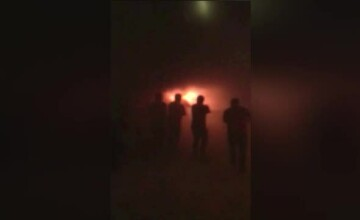 Noi imagini cu incendiul din Bamboo, filmate din interior. Joshua Castellano acuza ca cineva i-a dat foc la club