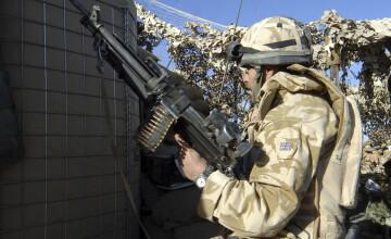 Un soldat britanic a fost ucis in Afganistan