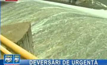 Deversări controlate pe Prut! Satele din aval vor fi inundate