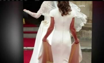 Pippa Middleton, cele mai asteptate declaratii. Ce a spus sora ducesei de Cambridge despre rochia care a facut-o celebra