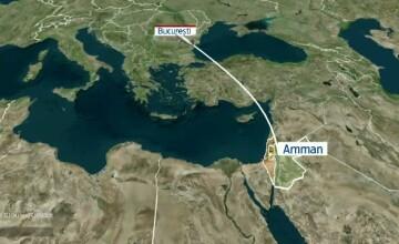 84 de romani si palestinieni au scapat de cosmarul numit Gaza. Acestia au fost repatriati cu doua avioane ale Armatei Romane