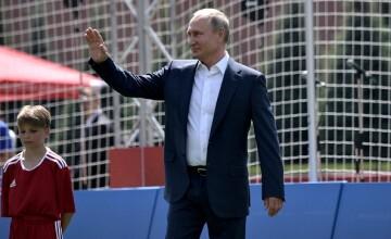 """""""Unde a dispărut Putin?"""" De ce a lipsit de fapt de la meciurile Rusiei la CM 2018"""