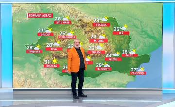 Vreme frumoasă în toată țara. Care este prognoza pentru weekend