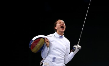 VIDEO. Ana Maria Popescu, gata să scrie din nou istorie la Olimpiadă: