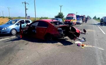 Ialomiţa: Accident produs pe DN 2