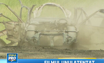VIDEO: Explozia din Chisinau care a ingrozit Europa, reconstituita in detaliu. Experiment ProTV