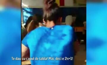 Ce risca profesoara filmata in timp ce umilea o eleva. \