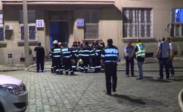 Incendiu in Gara de Nord din Bucuresti. Un barbat este internat in stare critica, cu arsuri pe tot corpul