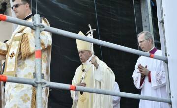 Discursul ţinut de Papa Francisc la Blaj. \