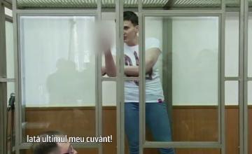 Gestul sfidator facut de ucraineanca Nadia Savchenko in fata instantei ruse. Controversele legate de procesul femeii-pilot
