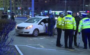 Femeia care a intrat cu masina in poarta din fata Guvernului este cercetata psihiatric. Ce spun cei care au vazut impactul