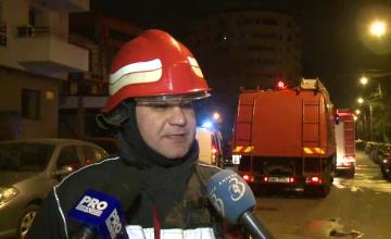 Incendiul de la un hotel din centrul Capitalei a lasat in urma trei victime. O tanara de 28 de ani este in stare grava