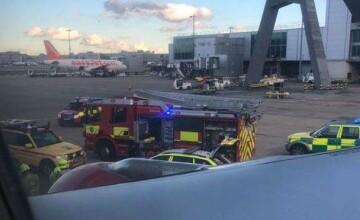 Al doilea aeroport din Marea Britanie, închis temporar din cauza dronelor