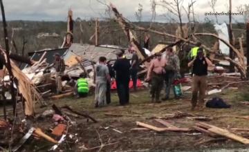 O tornadă violentă a lovit statul Alabama din SUA. Sunt cel puțin 23 morți